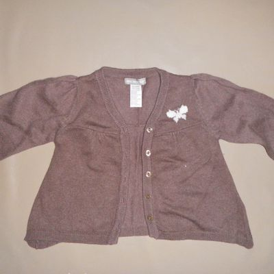 GILET ORCHSTRA 09 MOIS FILLE