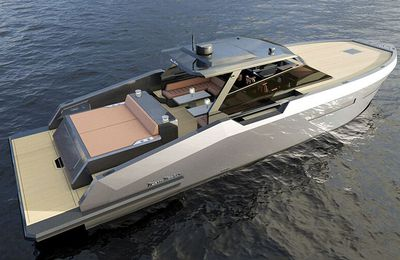 New Mazu 52HT World debut at the 2018 Cannes Yachting Festival