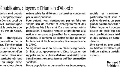 Tribune du groupe communiste dans le n°95 de Divercité, le magazine de la CAHC