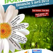 Flyer : saligny-sports-nature, le 5/4/2015 (Ref. : 38463)