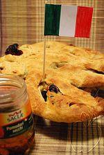 """Mi participación en el BBD#32 con un pan de inspiración italiana: """"Focaccia"""" (a mi manera) de Tomates Secos y Orégano (con masa madre)"""