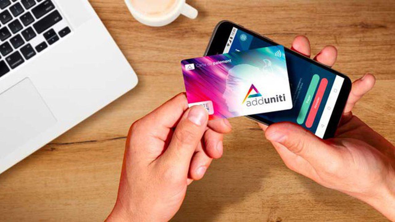 Adduniti, le porte-monnaie électronique qui révolutionne le sans contact