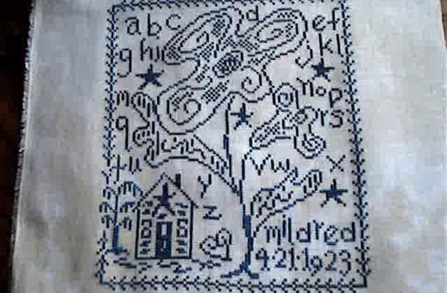 Mildred's Sampler - Blackbird Designs