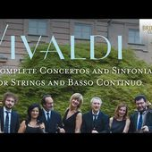 Vivaldi: Concertos and Sinfonias for Strings and Basso