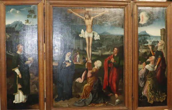 Le triptyque est resté un demi-siècle au musée Crozatier avec d'être restitué aux ayants droit de ses propriétaires spoliés à la fin des années 30. Photo d'archives Ophélie Crémillieux