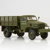 SSM1375 Chevrolet G7117 flatbed truck with tent /khaki/