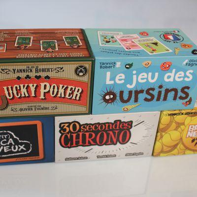 Votre pack de Noël de 5 jeux d'ambiance est disponible à 89€ !