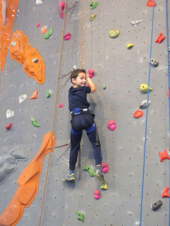 Pour grimper, il faut se dépasser, vaincre sa peur et trouver une solution même si elle n'est pas évidente.