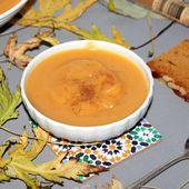 Compote de l'automne au saveur pain d'épices - Chez Vanda