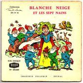 blanche neige 1959 imagerie Pellerin - Epinal