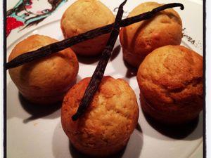 Mes madeleines espagnoles à la vanille... Moelleuses et croustillantes !