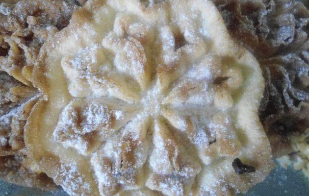 Beignets croustillants au fer à beignets