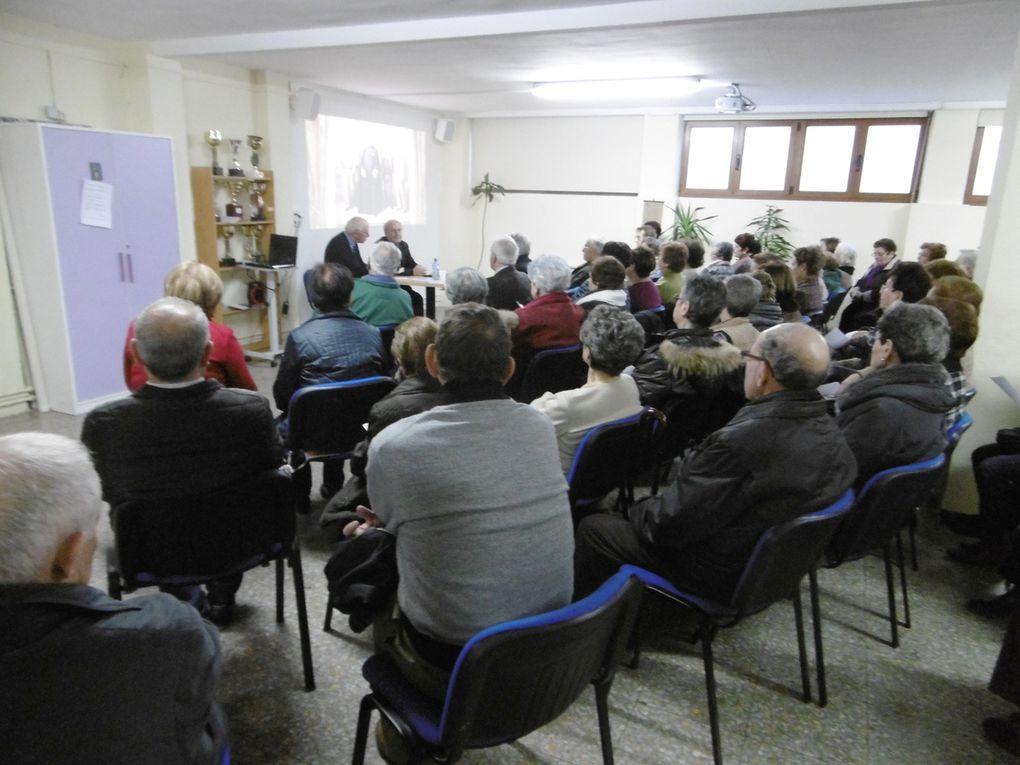 Conferencia de D. Saturnino López sobre Valentín Palencia.