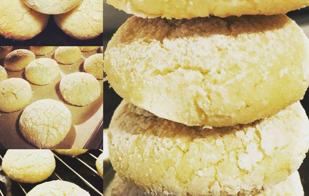 """Biscuits craquelés au citron """"Lemon Crinkles"""""""