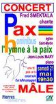 Les Amis du Patrimoine de Mâle vous proposent le concert de Fred Smektala, le samedi 21 mai 2016 à 19h30, en l'église Saint-Martin de Mâle (Val-au-Perche)