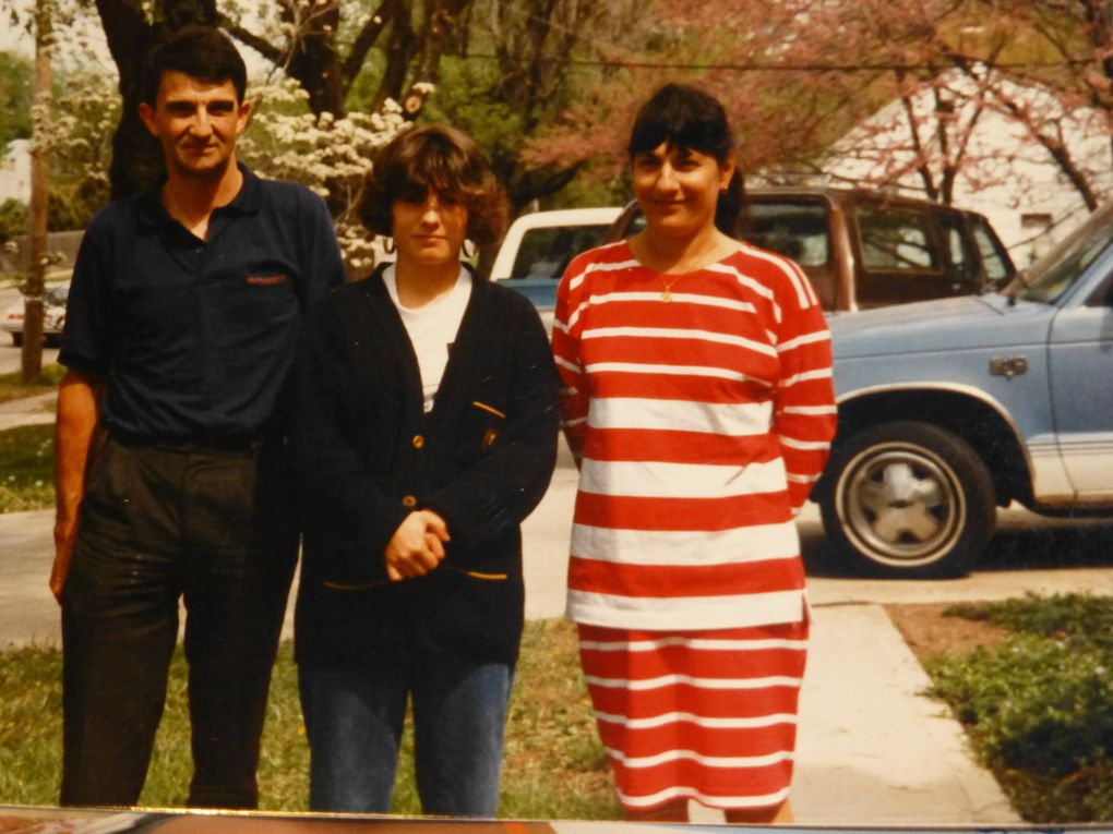 Le voyage aux Etats Unis en 1986