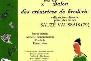 Autre manifestation pour brodeuses : Sauzé-Vaussais