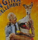 Affiches Orangina, des pin-up très racoleuses et des clients sidérés par leurs charmes