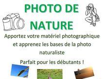 Initiation à la photo de nature
