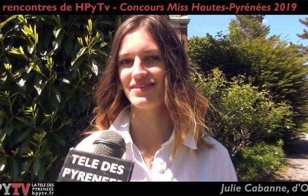 Les Rencontres de HPyTv : Julie Cabanne, candidate Miss Hautes-Pyrénées (Mai 2019)