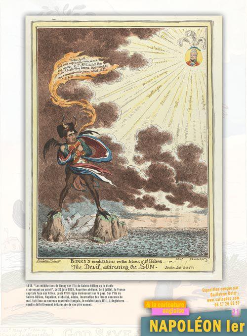 Napoléon Ier et la caricature : exposition itinérante à louer