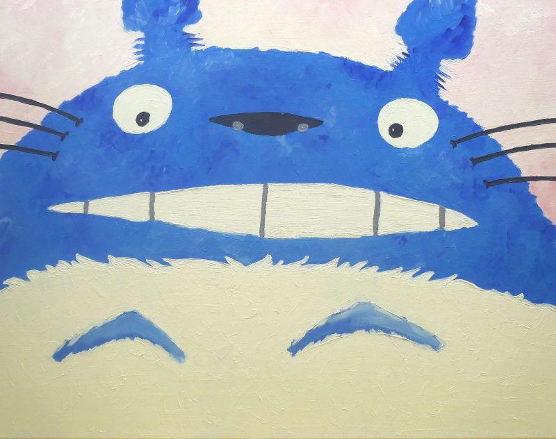 Totoro - Acrylique sur toile