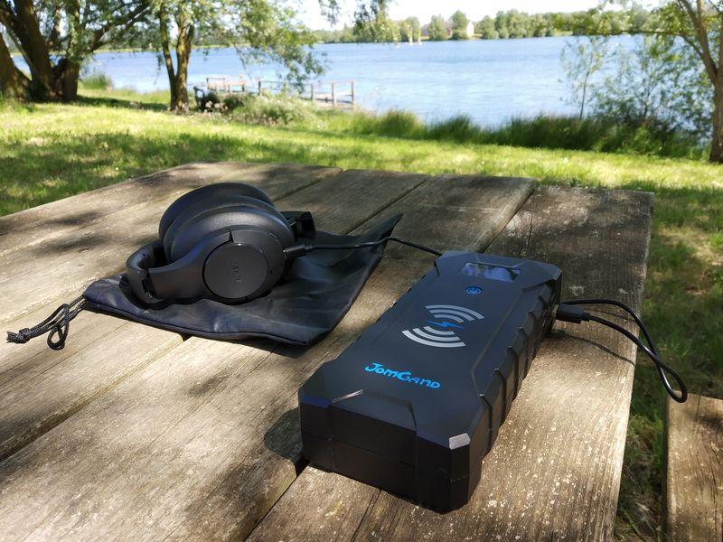 essai de la batterie externe Jump Starter multifonctions - JomGand JW401 @ Tests et Bons Plans