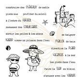 fdstt5014-tampons-transparents-phrases-a la plage FEE DU SCRAP