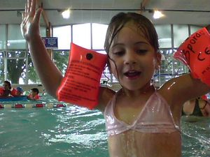 Centre Curie mat - piscine - 23 juillet