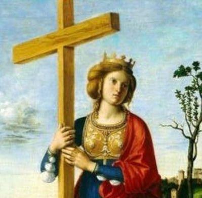 Vie & coloriages de sainte Hélène