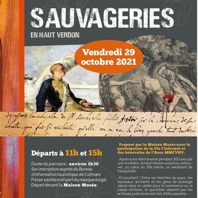 affiche maison musée le programme du 29 30 et 31 octobre