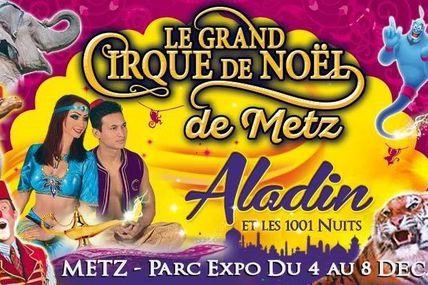Metz Le cirque Medrano du 4 au 8 décembre 2019