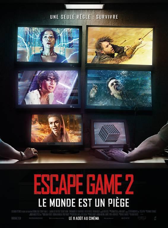 Escape Game 2 – Le Monde est un piège - Le 11 août au cinéma