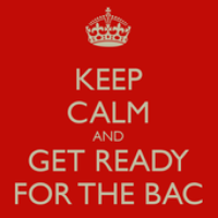 (TERM S) KEEP CALM AND GET READY FOR THE BAC !