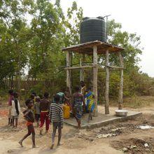 Deux puits à Gbognonhoué.