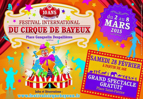 Le Festival International du Cirque de Bayeux