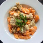 sauté de veau aux carottes - mes recettes omnicuiseur