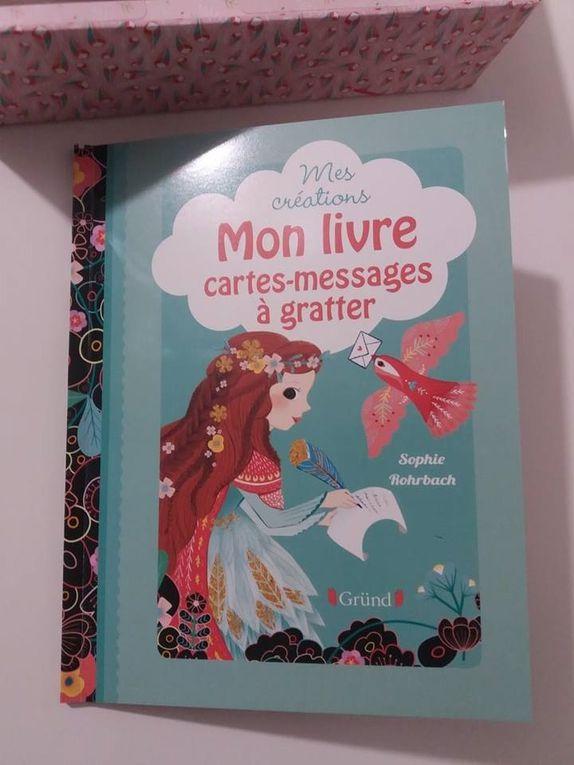 Mon coffret cartes - messages à gratter avec les Editions Gründ