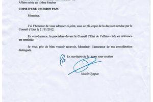 Affaire Valére : La SANEF débouté suite à la décision du conseil d'état.