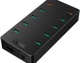 TEST: Chargeur secteur 10x Ports USB AiPower / Quick Charge 3.0