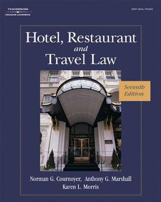 (PDF) Download Hotel, Restaurant, and Travel Law By Norman G. Cournoyer ePub online