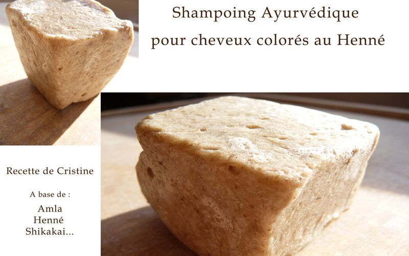 Shampoing Ayurvédique solide
