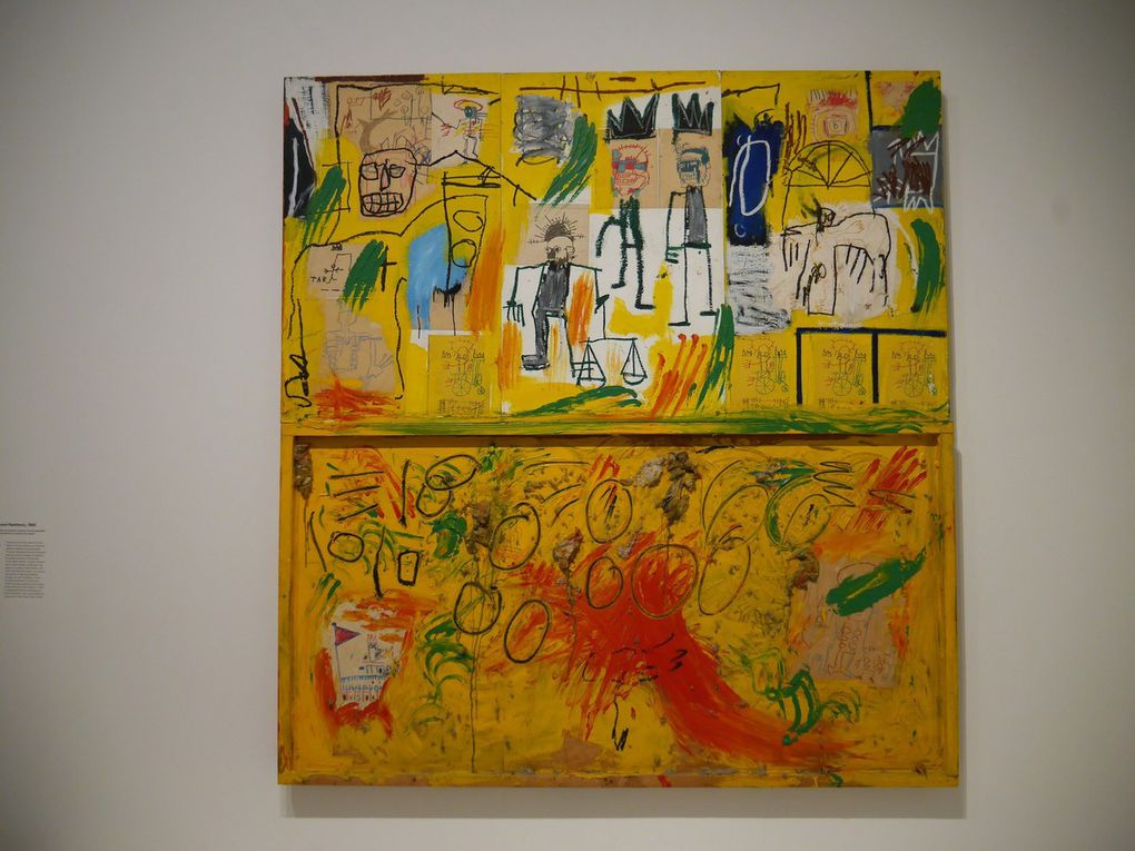 exposition Jean-Michel Basquiat et Egon Schiele à la Fondation Louis Vuitton