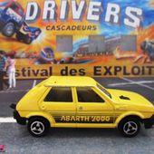 239-C FIAT RITMO 65 CL ABARTH 2000 1/53 MAJORETTE - car-collector.net