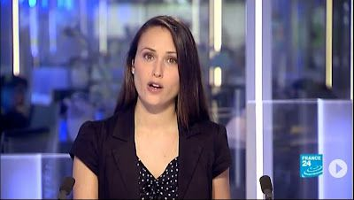 2013 06 10 - JESSICA LE MASURIER - FRANCE 24 EN - THE NEWS @17H00