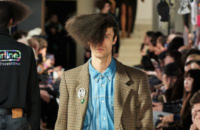 MARTINE ROSE FALL 2020 MENSWEAR AT LFW