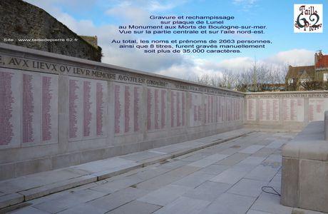 Monument aux Morts de Boulogne sur mer