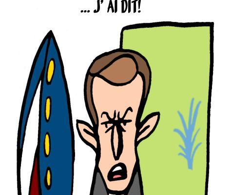 Allocution de Macron
