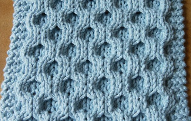 Boucle d'Or Afghan KAL : square 15