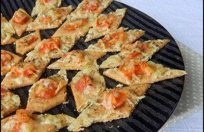 Biscuits apéritifs à la tomate provençale IG bas